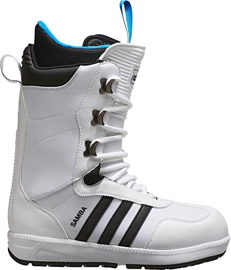 shop clearance sale utterly stylish Adidas The Samba Snowboard Boots, UK 10, White/Black, 2017