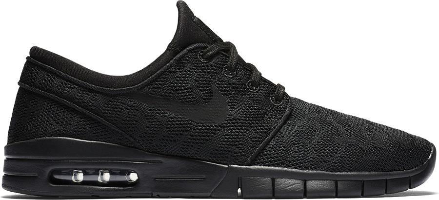 d5b67a4544 Nike SB Stefan Janoski Max Men's Skate Shoes, UK 7.5 Black/Black
