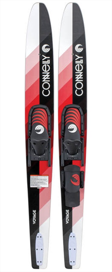 """Connelly Voyage Combo Waterskis, 68"""" / 173cm Red 2019"""