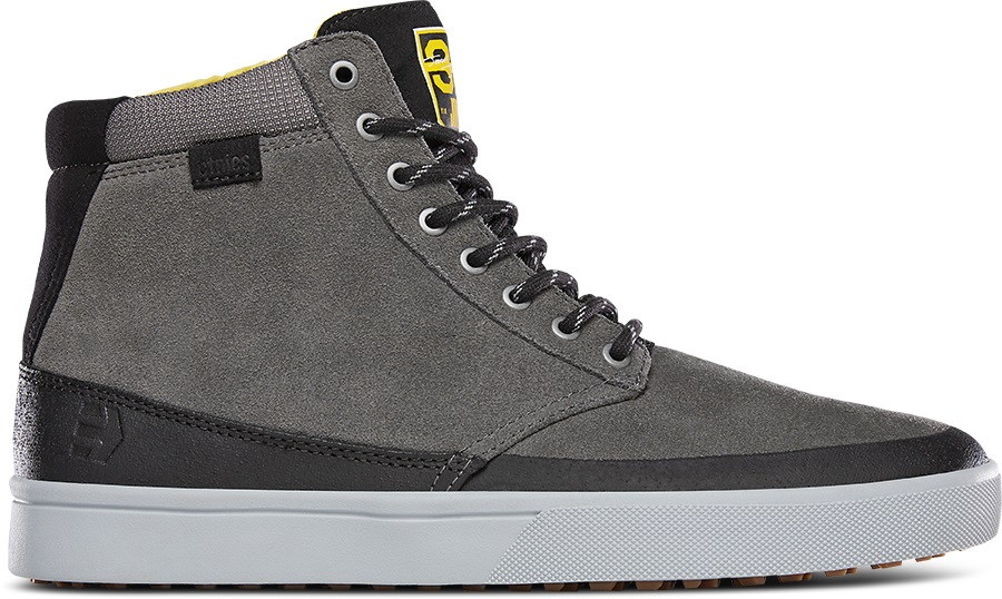 Etnies Jameson HTW X 32 Winter Boots, UK 7.5 Grey/Black/Yellow