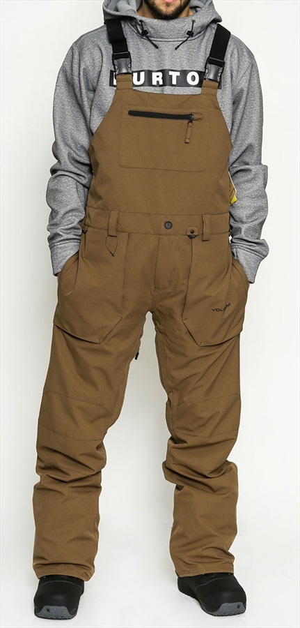 8db90200e Volcom Mens Roan Overall Ski & Snowboard Pants, XL Teak. Zoom
