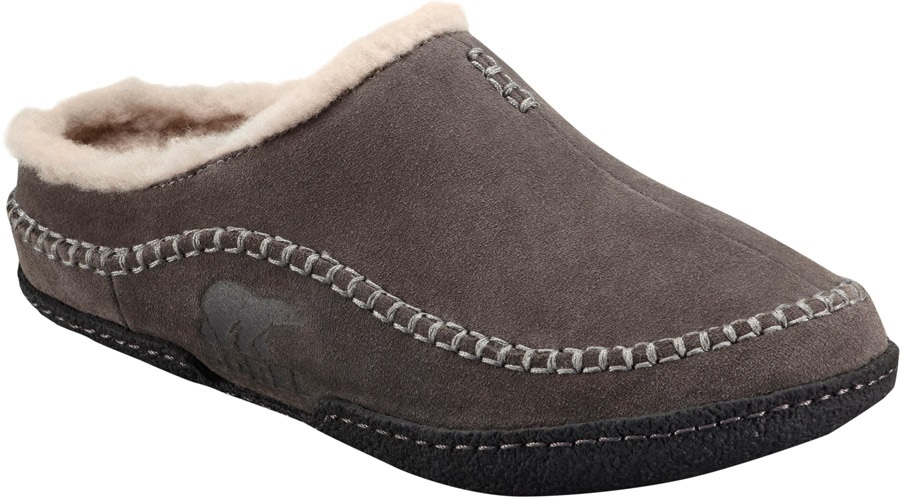81477eeab Sorel Adult Unisex Falcon Ridge Men's Slippers, UK 7 Shale