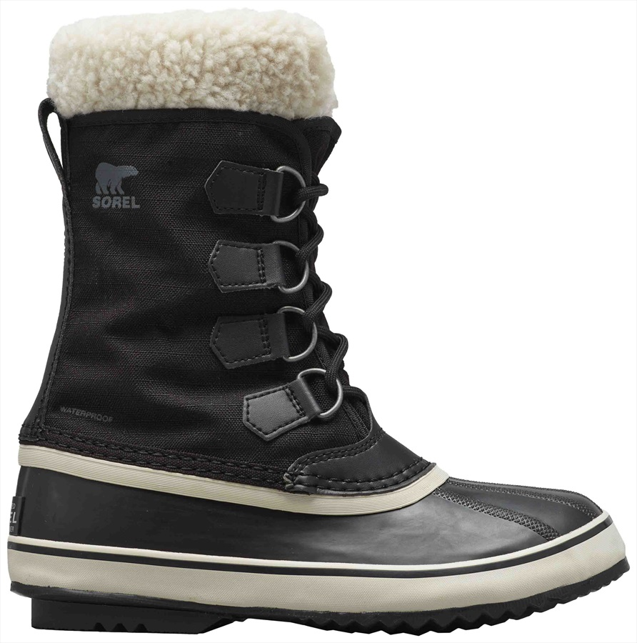 Sorel Winter Carnival Women's Snow Boots, UK 4 Stone/Black