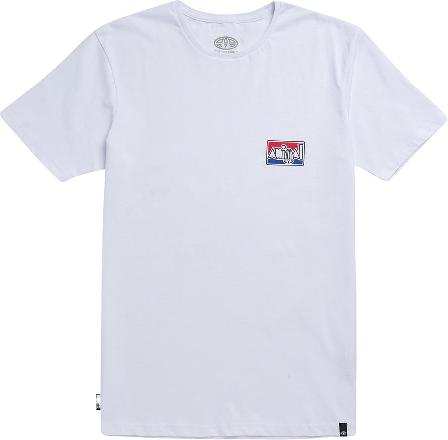 Animal Heritage Short Sleeve Graphic T-Shirt, S White