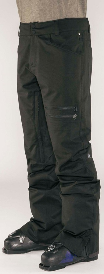 Armada Atmore Stretch Snowboarding/Ski Pants, S Black
