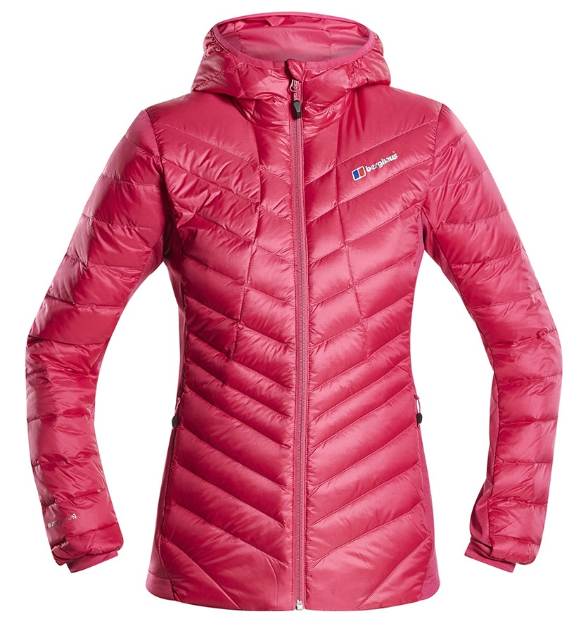 Berghaus Tephra Stretch Women's Down Insulated Jacket, UK 12 Pink