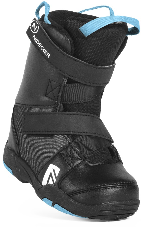 Nidecker Mini Micron Kid's Snowboard Boots, UK 11/12C Black 2019