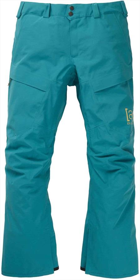 Burton [ak] 2L Swash Gore-Tex Ski/Snowboard Pants, M Green-Blue Slate