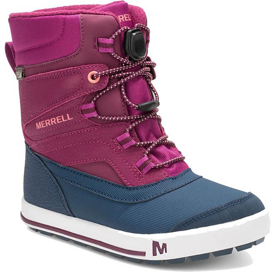 paras laatu saada halvalla Yhdysvallat Merrell Snow Bank 2.0 WTPF Kid's Winter Boots, UK Child 10 Berry