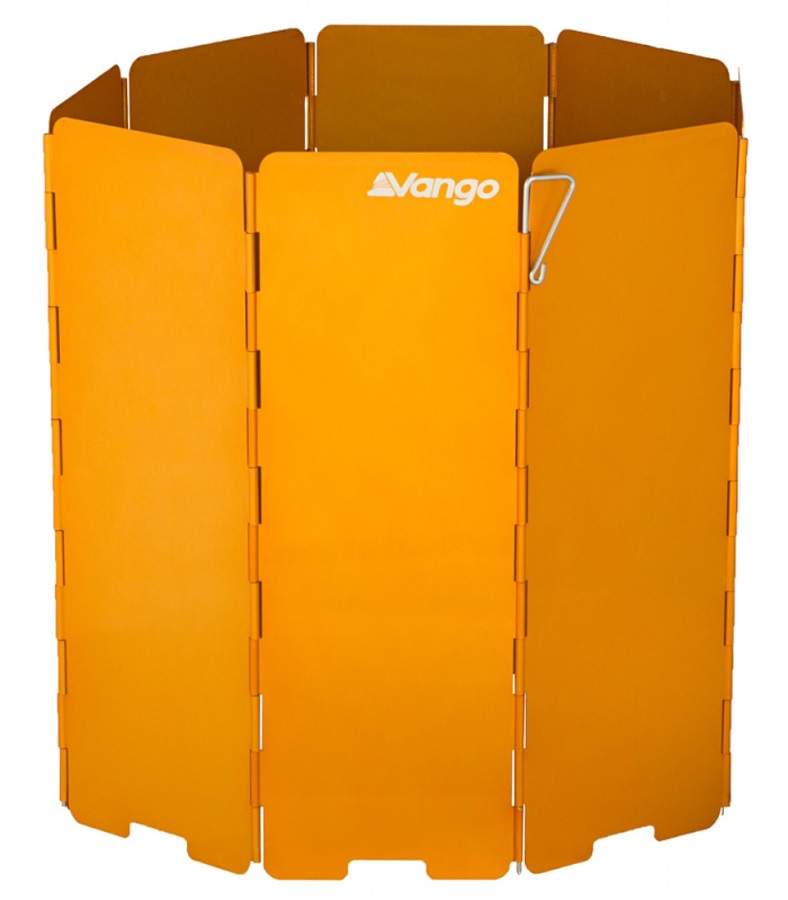 Vango Windshield Camp Stove Wind Screen, XL Orange