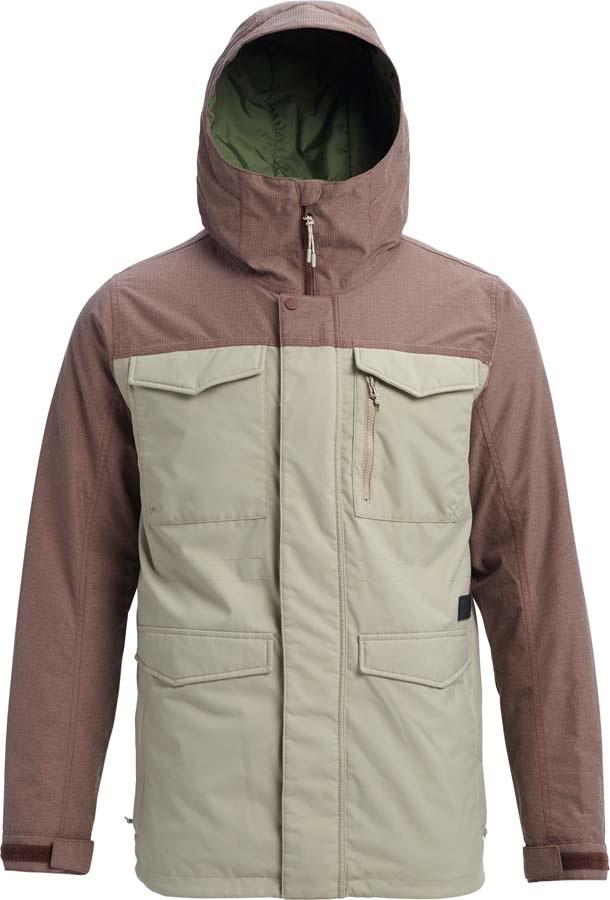 Burton Covert Snowboard/Ski Jacket, M Hawk / Chesnut