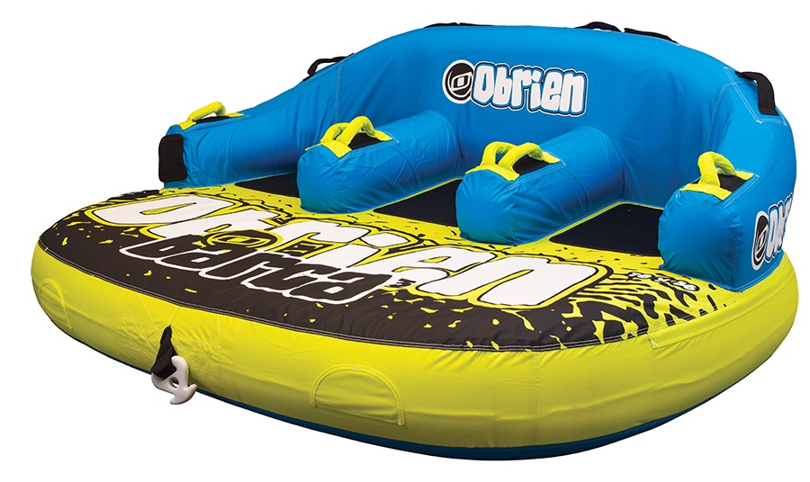 O'Brien Barca Seated Towable Inflatable Tube 3 Rider Yellow 2019