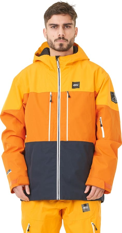 Picture Object Insulated Snowboard/Ski Jacket, M Yellow