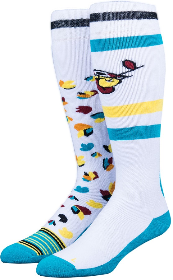 Stinky Blind Collab Snowboard/Ski Socks L-XL Lips/Tulips
