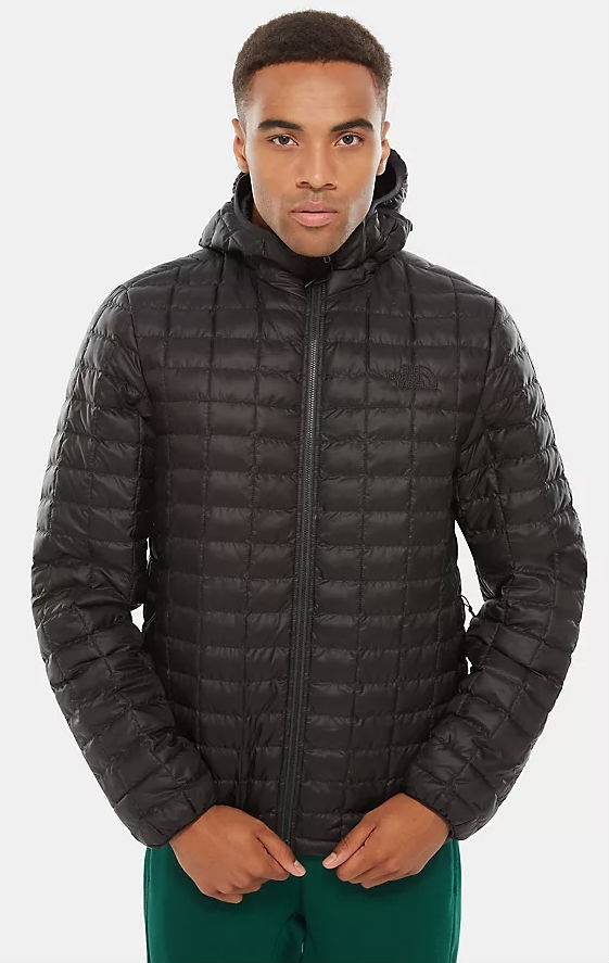The North Face Thermoball Eco Hoodie Insulated Jacket, S Black Matte