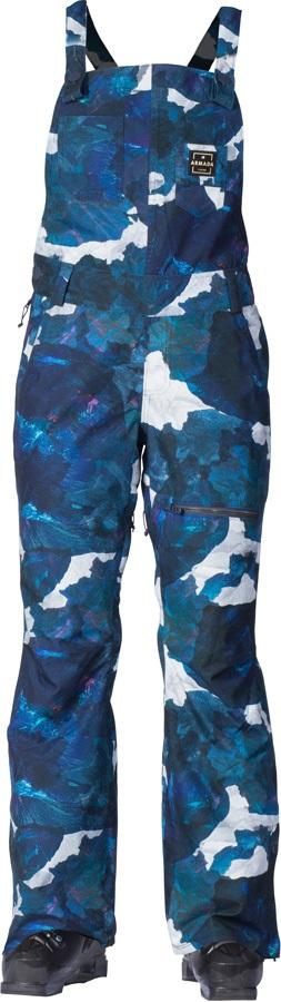 Armada Cassie Overall Women's Ski/Snowboard Bib Pants, S Ocean Lava