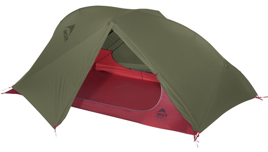 MSR FreeLite 2 V2 Ultralight Backpacking Tent, 2 Person Green
