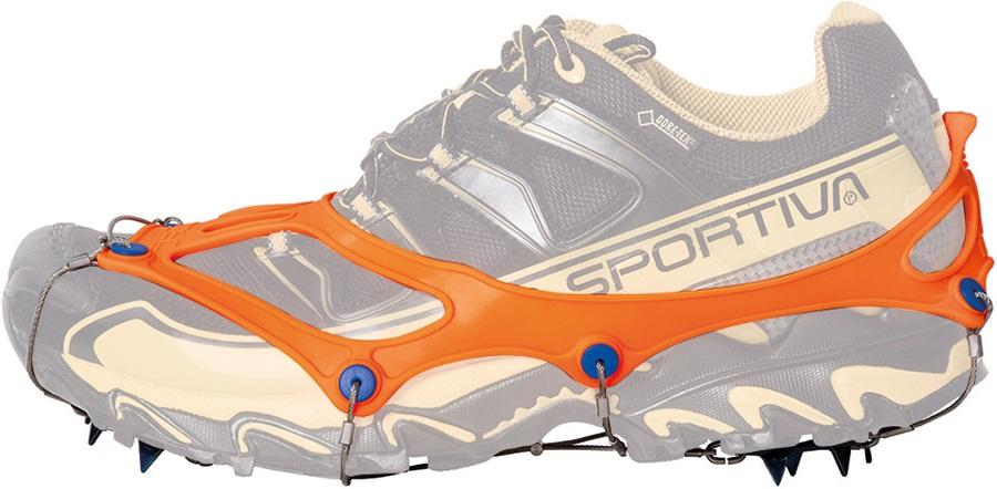 72e8f61d06621 Nortec Trail Ultralight Micro Crampons, Medium (UK 6-7.5) Orange