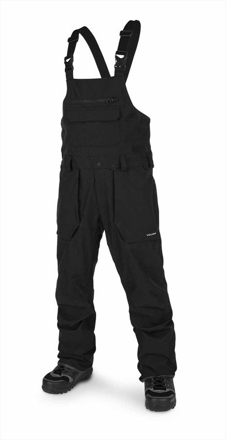 Volcom Roan Bib Overall Men's Snowboard & Ski Pants XXL Black