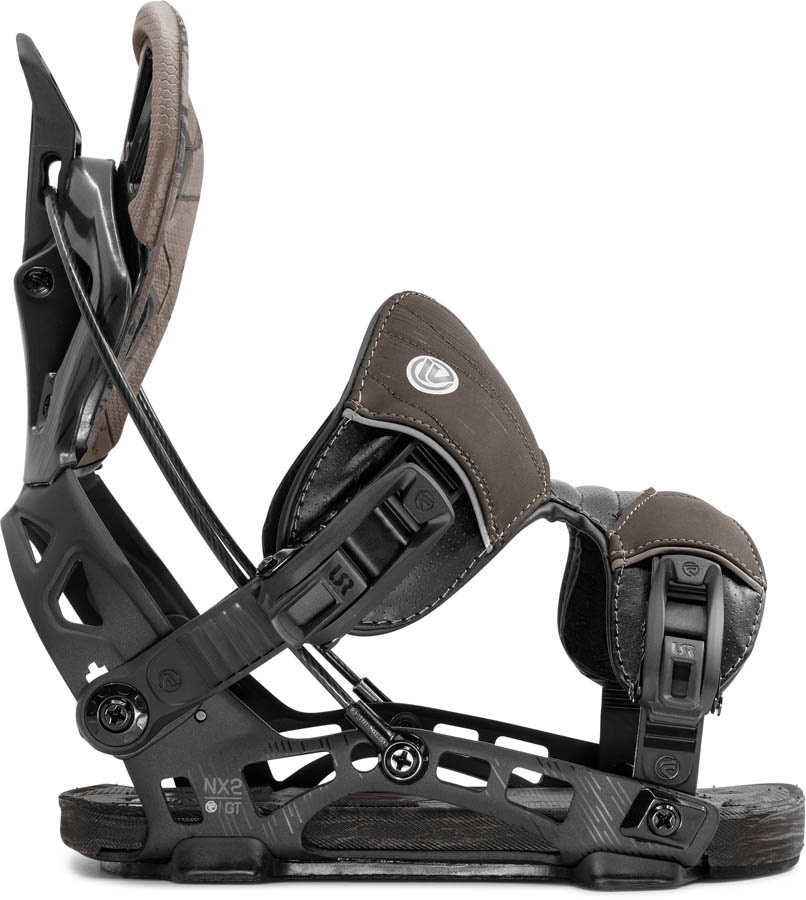 Flow Adult Unisex NX2 GT Fusion Step In Snowboard Bindings, XL 2020