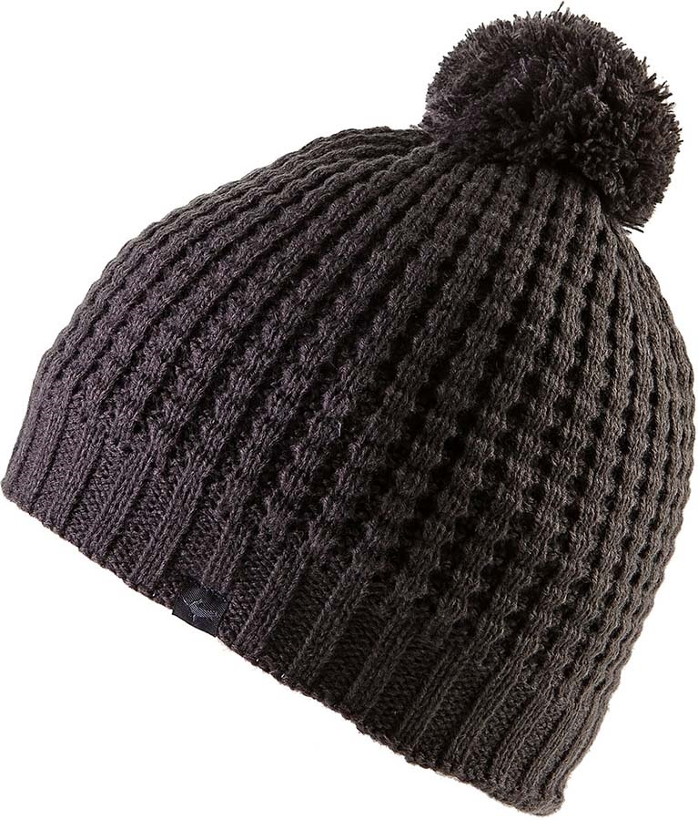 SealSkinz Waterproof Waffle Knit Bobble Hat, S/M Grey