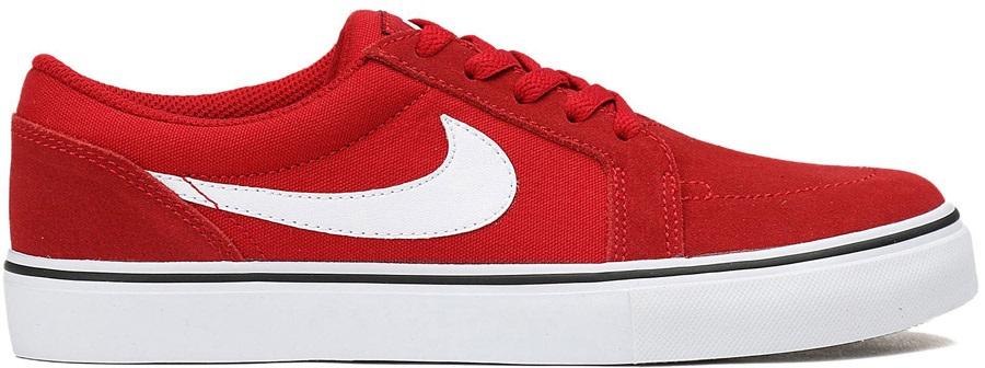 Nike Sb Satire Ii Skate Shoes Uk 10 Gym Red White