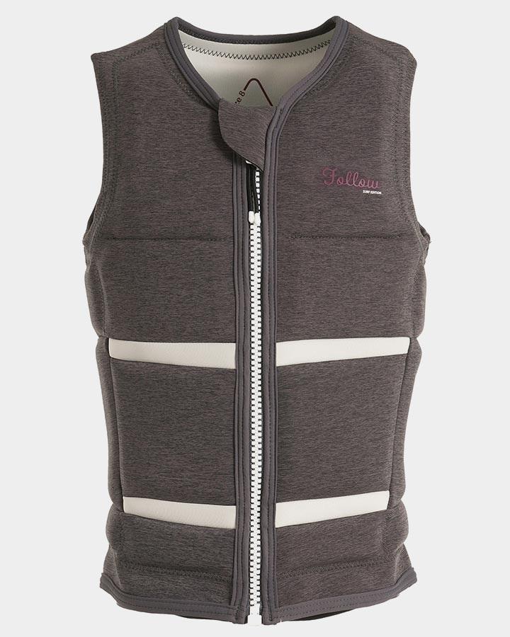 Follow Surf Ladies Wakeboard Impact Vest, S Grey 2019