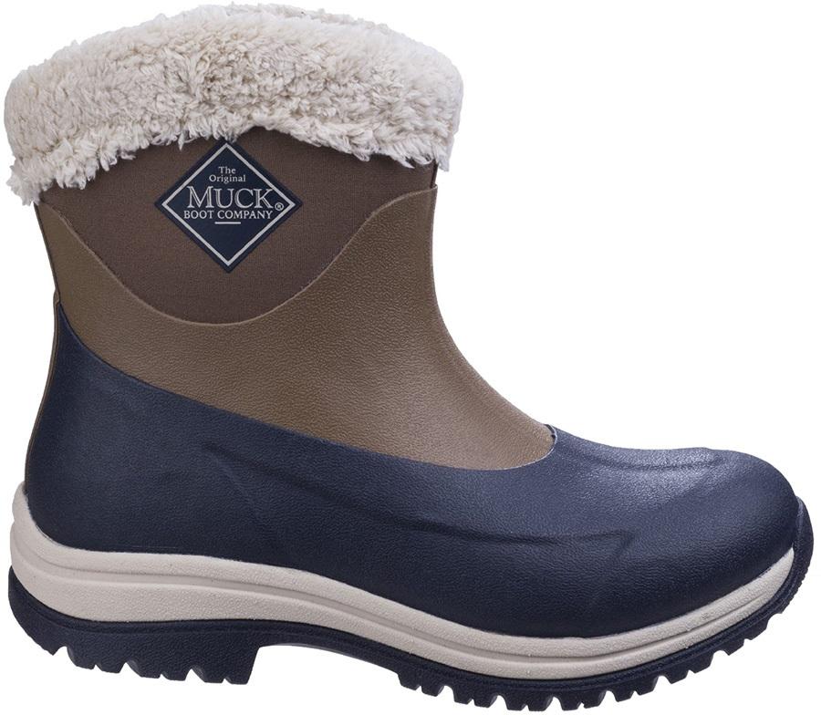 45163055900 Muck Boot Arctic Apres Women's Winter Boots, UK 4 Otter/Navy