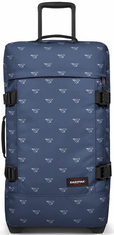 Eastpak Tranverz M Wheeled Bag/Suitcase, 78L Minigami Planes