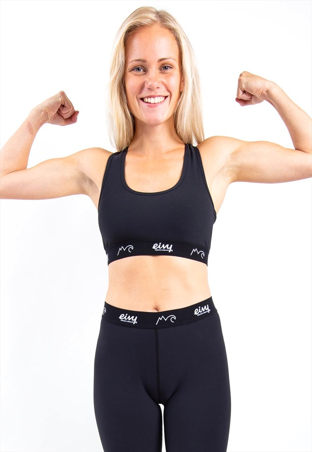 Eivy Shorty Women's Sports Bra, XS Black