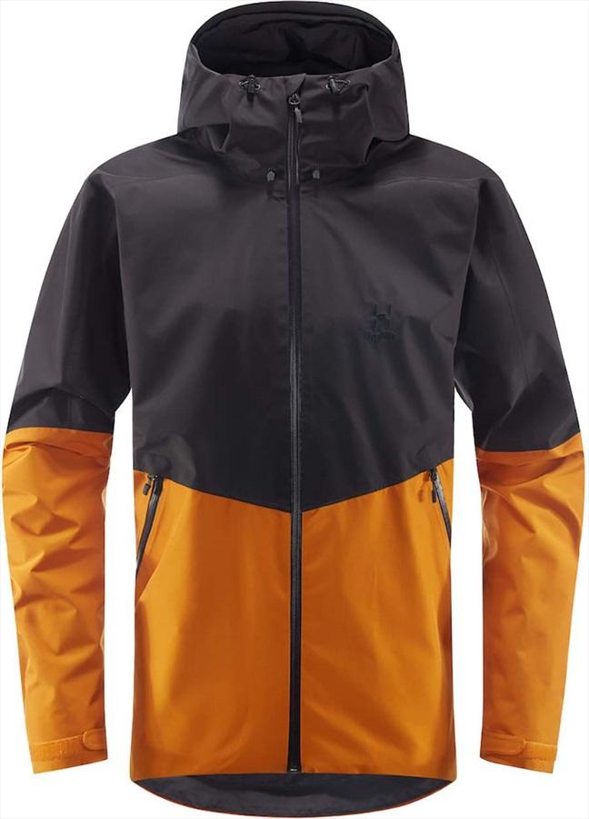 Haglofs Merak Waterproof Gore-Tex® Jacket, M Desert Yellow/slate