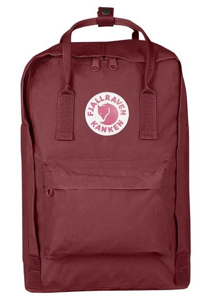"""Fjällräven Kanken Laptop 15"""" Backpack, 18L Ox Red"""