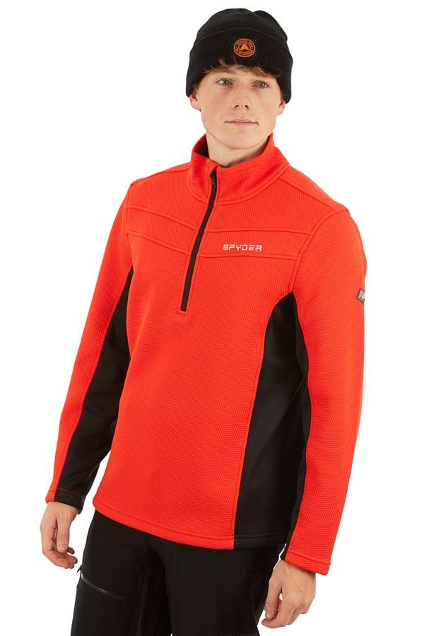 Spyder Encore Half-zip Fleece Jacket, M Volcano
