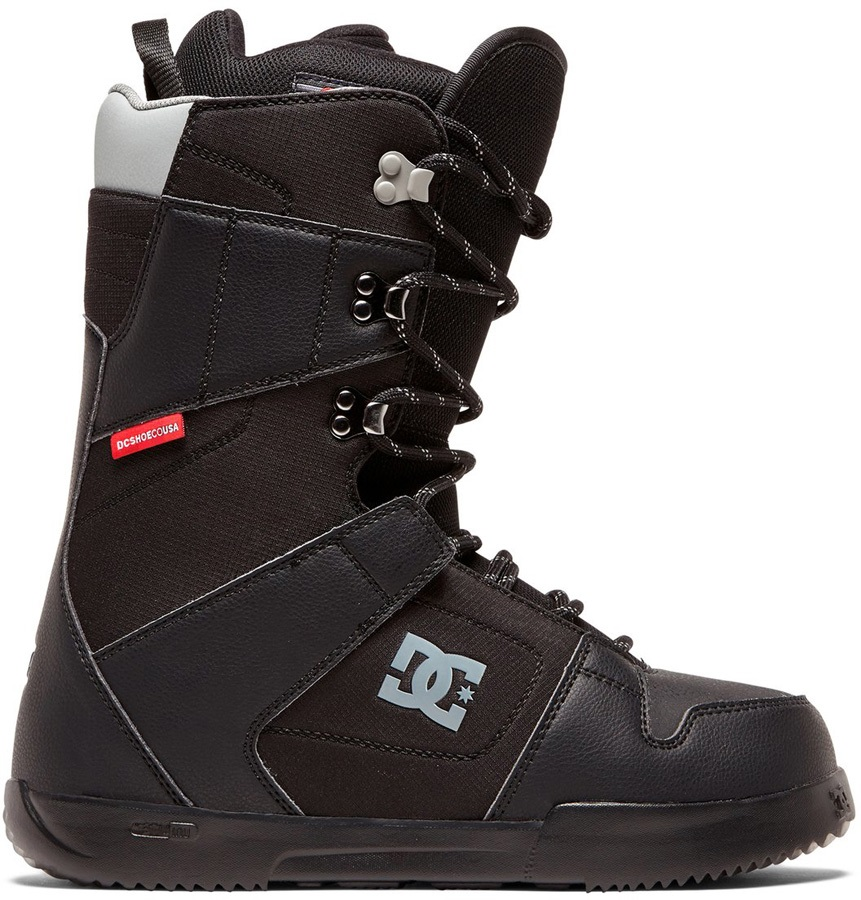 DC Phase Lace Snowboard Boots, UK 7.5 Black 2020