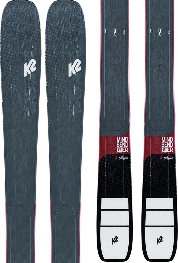 K2 Womens Mindbender 88Ti Alliance Ski Only Skis, 156cm Graphite 2020
