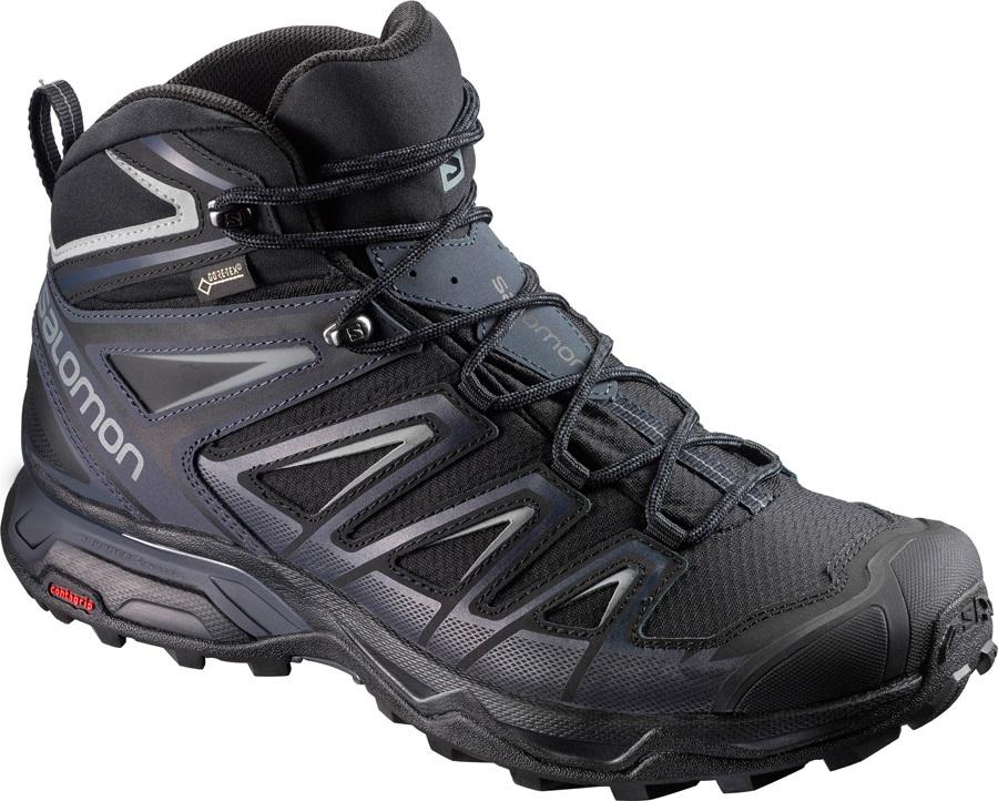 Salomon X ULTRA 3 Mid GTX Hiking Boots, UK 8 India Ink