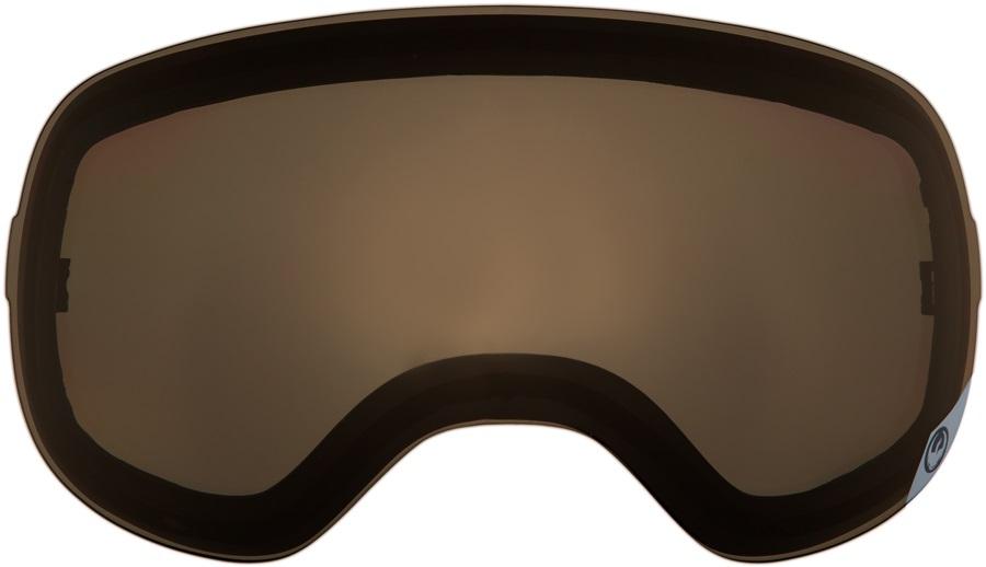 Dragon X1 Snowboard/Ski Goggle Spare Lens, One Size, Jet