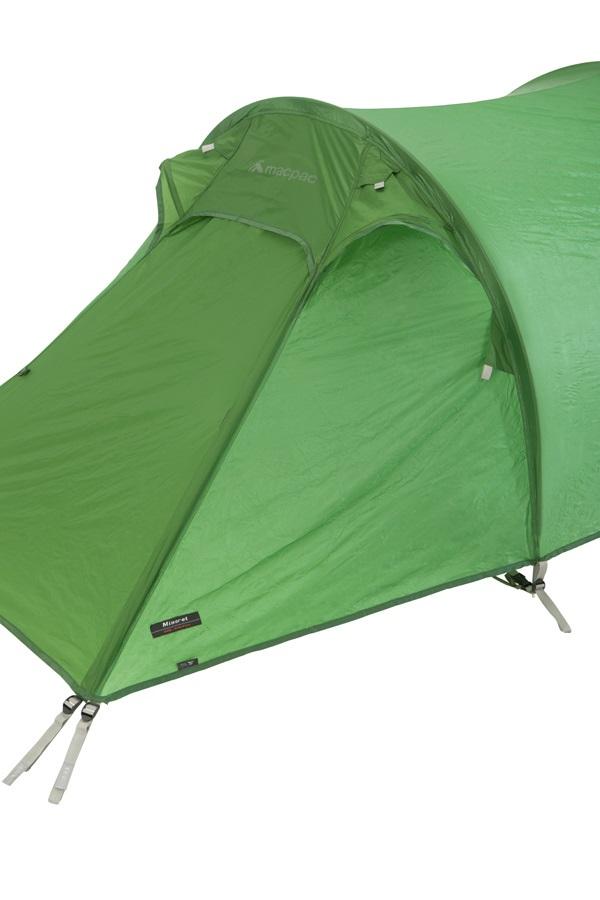 Macpac Minaret Lightweight Mountaineering Tent, 2 Person Kiwi on