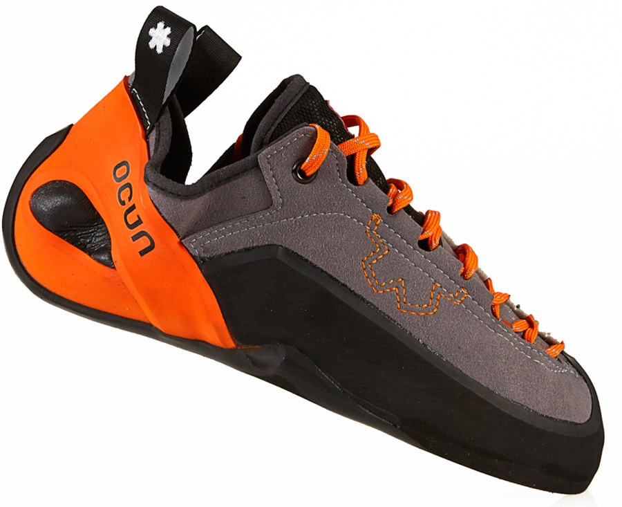 Ocun Adult Unisex Jett LU Rock Climbing Shoe, UK 5.5 Orange
