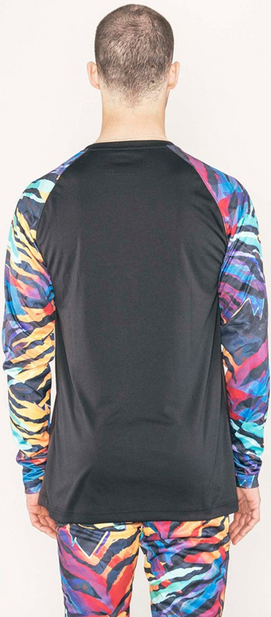 Armada Contra L/S Crew Base Layer, S Tiger Ween