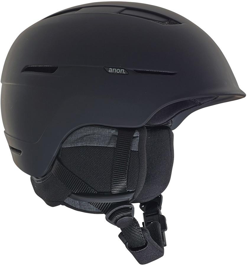 Anon Adult Unisex Invert Ski/Snowboard Helmet, M Black
