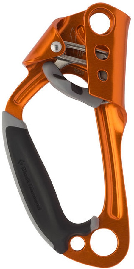 Black Diamond Index Ascender Rock Climbing Ascender, Orange