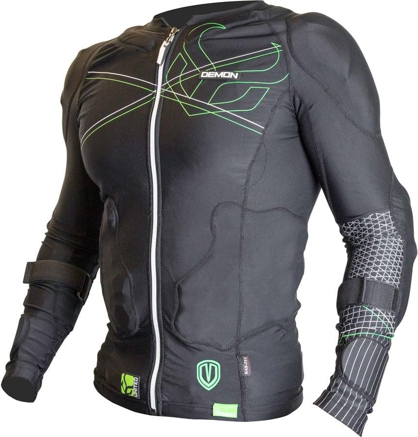 Demon Flex Force Pro Body Armour Top L Black/Green