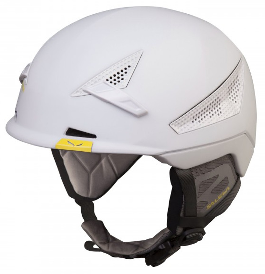 Salewa Vert FSM Rock and Ski/Snowboard Helmet, S/M, White