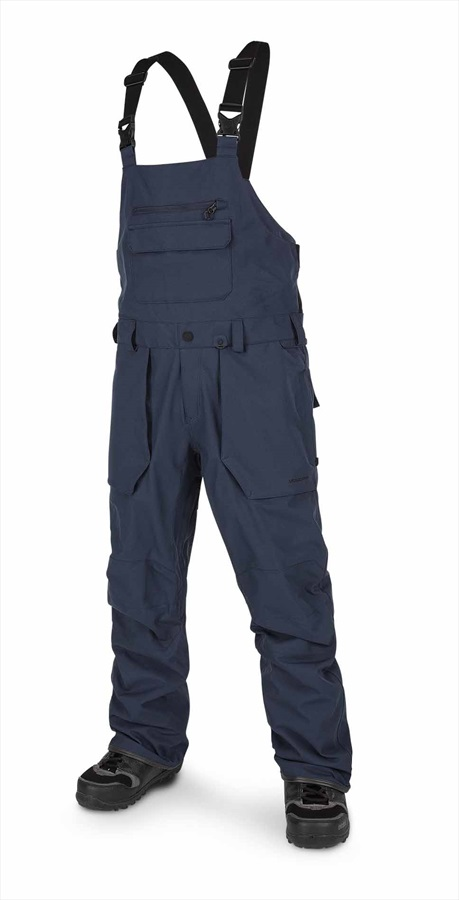 Volcom Roan Bib Overall Men's Snowboard & Ski Pants S Navy