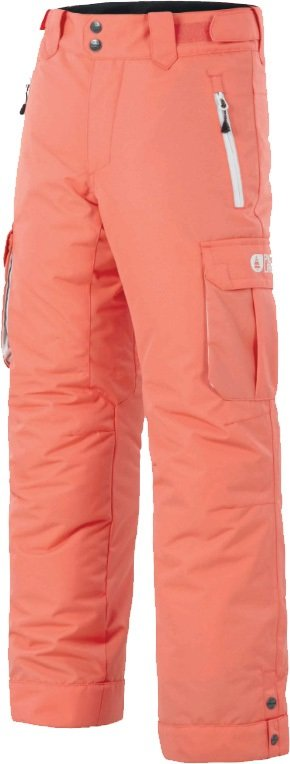 Picture August Age: 12/14 Kid's Ski/Snowboard Pants, L Coral