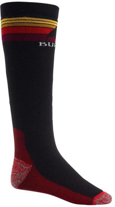 Burton Adult Unisex Emblem Midweight Ski/Snowboard Socks, M True Black