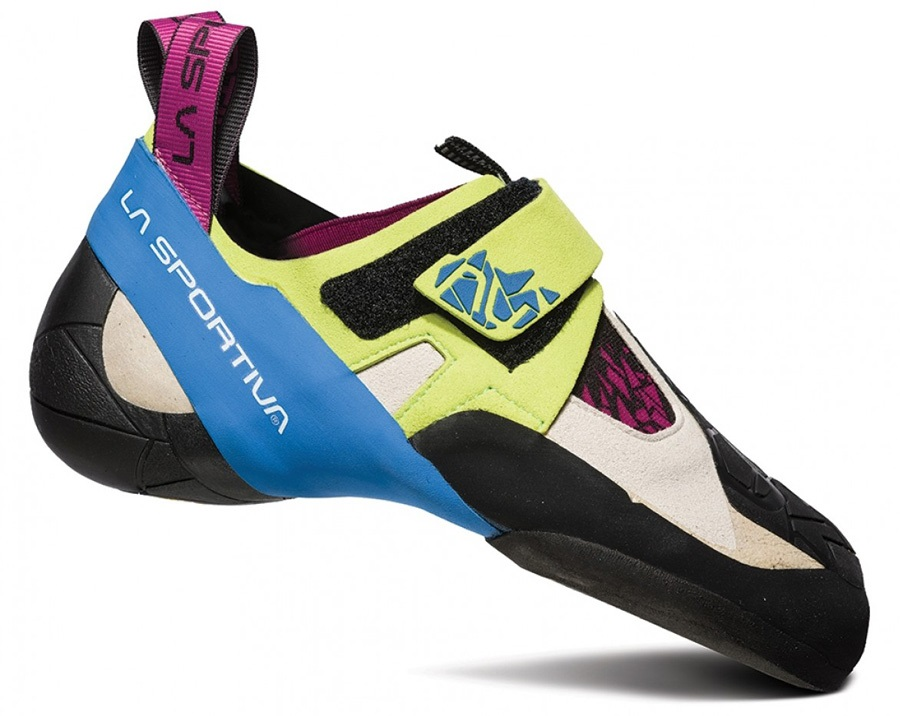 La Sportiva Women's Skwama: UK 1 | EU 33, Green / Blue