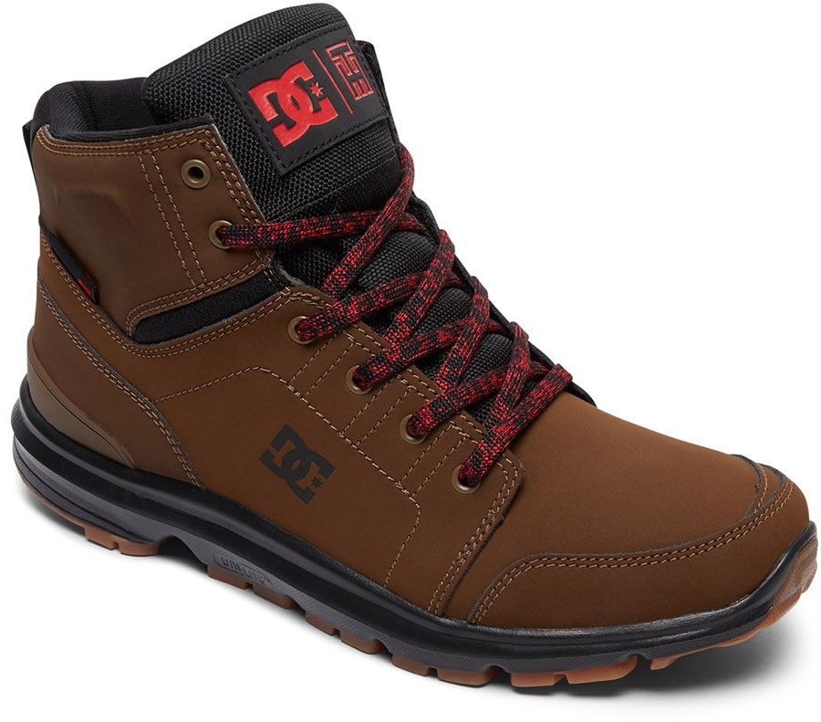 DC Torstein Men's Winter Boots, UK 6 Dark Chocolate