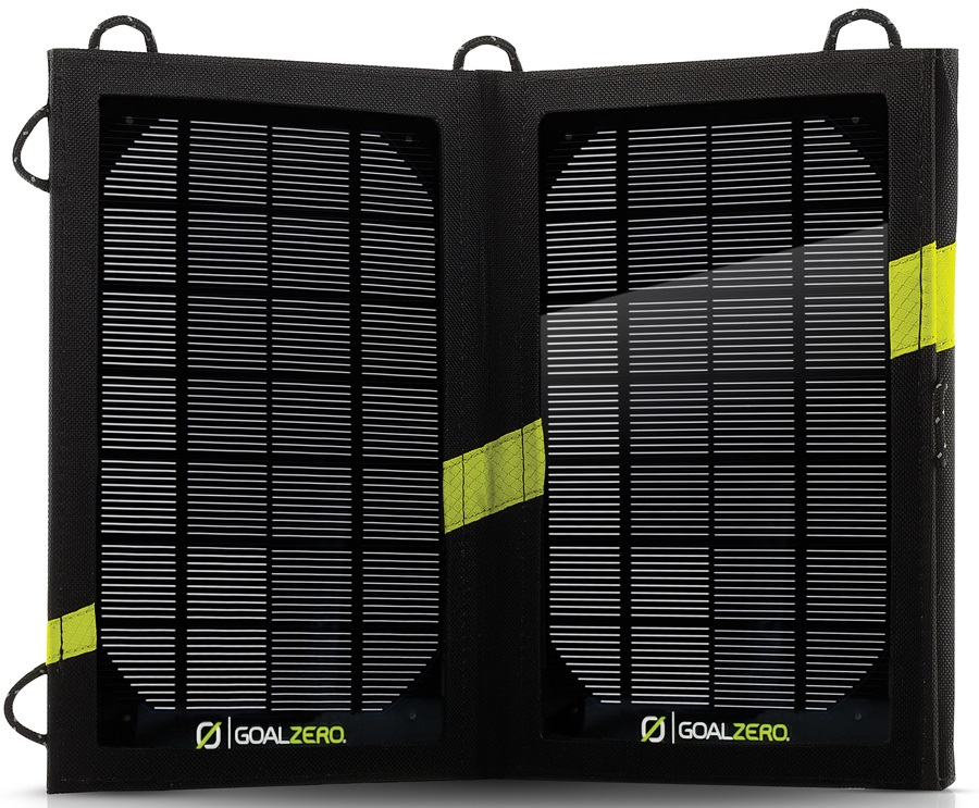 Goal Zero Nomad 7 Portable Solar Panel Kit, One Size, Black